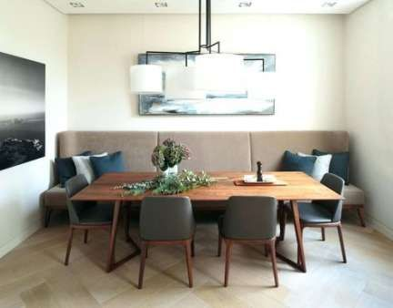 Bench Seating Dining Room Banquettes 25 Ideas Seating Modern Dining Room Dining Room Bench Seating Mid Century Dining Room