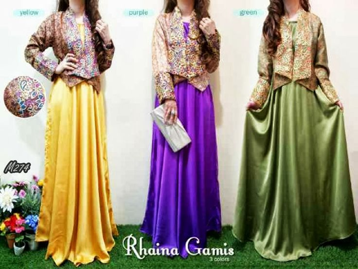 17 Best Images About Busana Muslim Gamis On Pinterest
