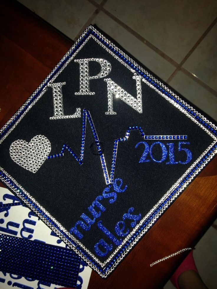 My Graduation Cap Grad Cap Pinterest Lpn Nursing