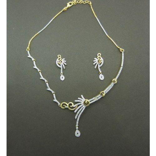 Designer CZ Necklace