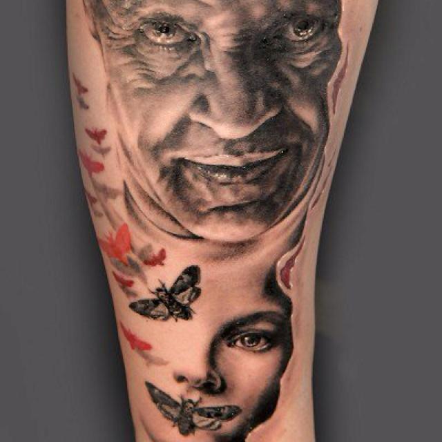 Horror Movie Tattoos Tattoos: 191 Best Horror Tattoos Images On Pinterest
