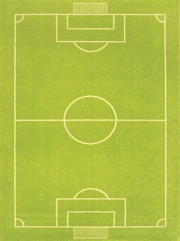 IVI Play Rug: Soccer Football Pitch