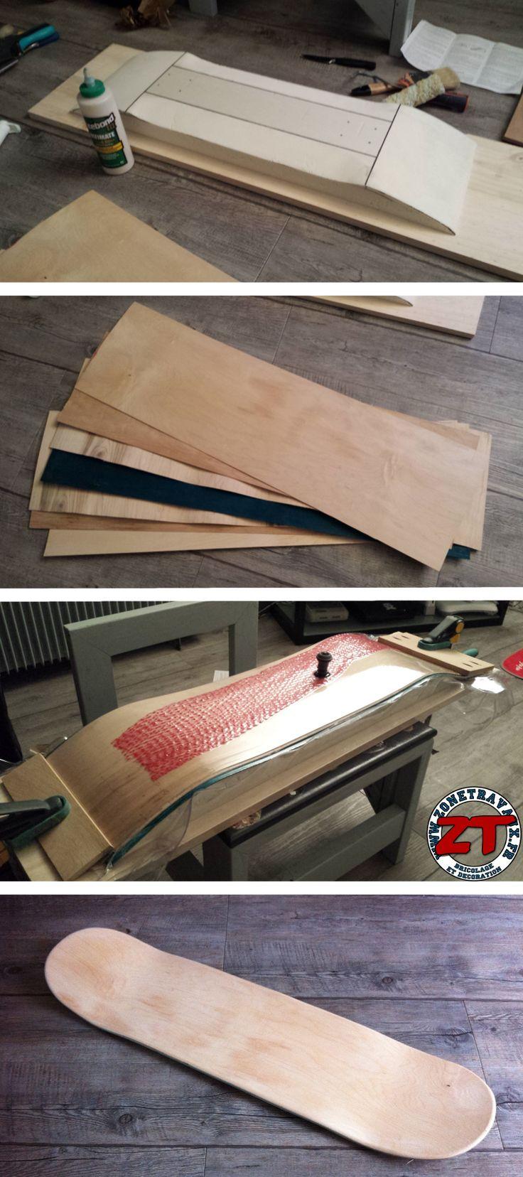 1000 images about cr ations de zonetravaux on pinterest - Planche de skateboard vierge ...