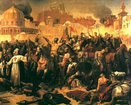 Capture of Edessa: Muslims re-capture Edessa under the command of Imad ad-Din Zengi making Znegi a hero among th Muslims. This, in turn, leads to the start of the Second Crusade.