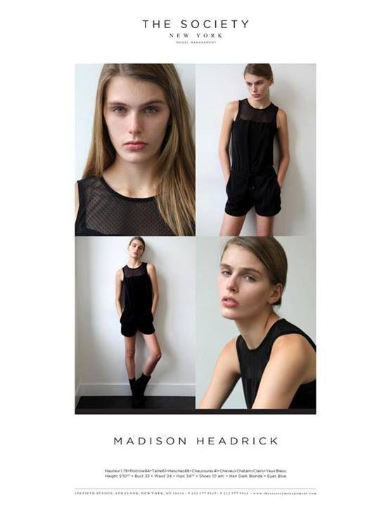 Model Update: Madison Headrick at The Society Mgmt