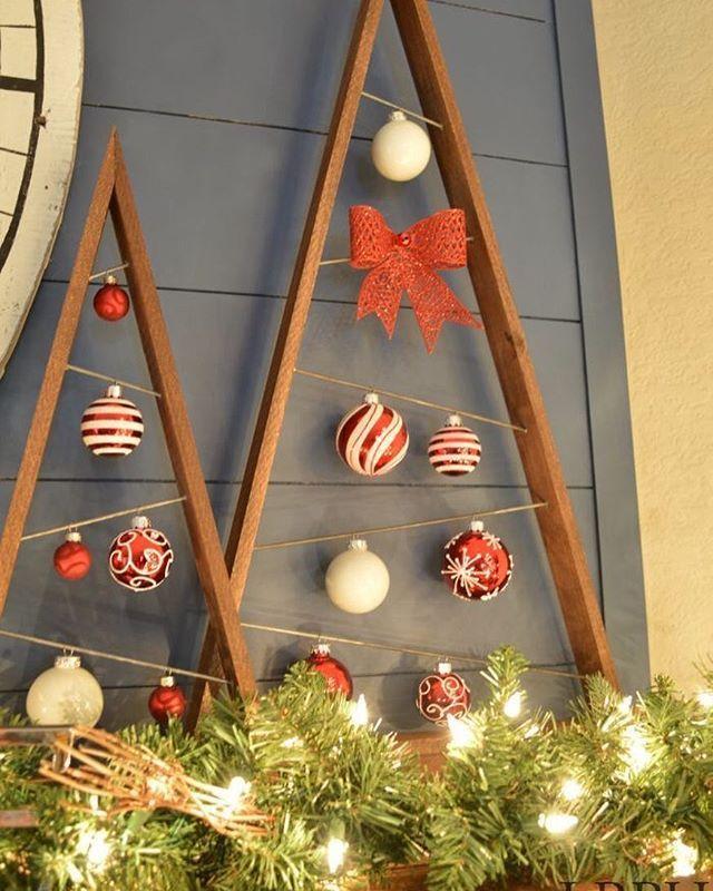 Ideia fofa para o Natal Imagem pinterest #mae_festeira #maefesteiranatal #natal #ideias #ideas #xmasideas