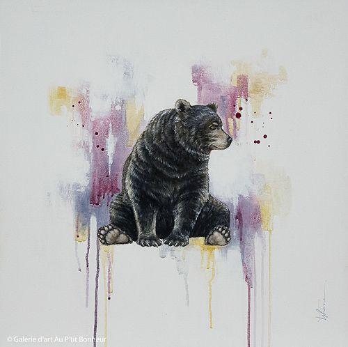 Tammy Shane, 'Arthur', 25'' x 25'' | Galerie d'art - Au P'tit Bonheur - Art Gallery