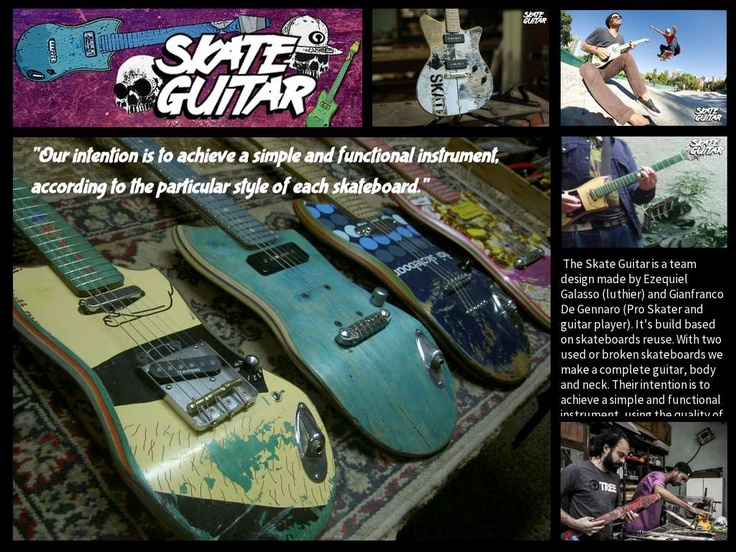 Skate Guitars - Created on Tactilize