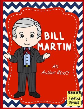 Brown Bear, Brown Bear, What do you See?A perfect Bill Martin author study for me!This is an author study designed to supplement a weeks lesson plan! If you liked our Dr. Seuss' author study, then check this one out because we have updated and added at least 6 new types of worksheets!All About the Author- Includes a biography, reading comprehension, timeline, fact & opinion, bubble map, & interactive journal to learn about the author.Reciprocal Teaching Strategies & Book Reports- ...