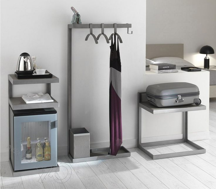 Bedroom Luggage Rack Metal Luggage Rack In Coloured