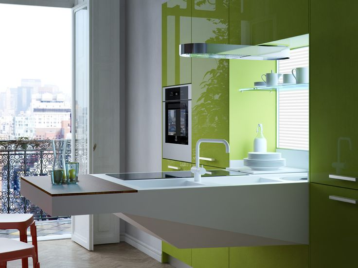 Snaidero BOARDu0027s Operating Area Block Is An Ideal Kitchen Solution For  Studio Flats Or Small Apartments