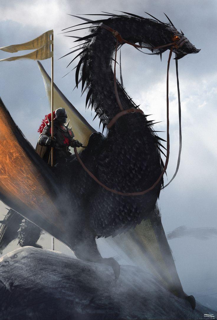 Картинки всадники и драконы