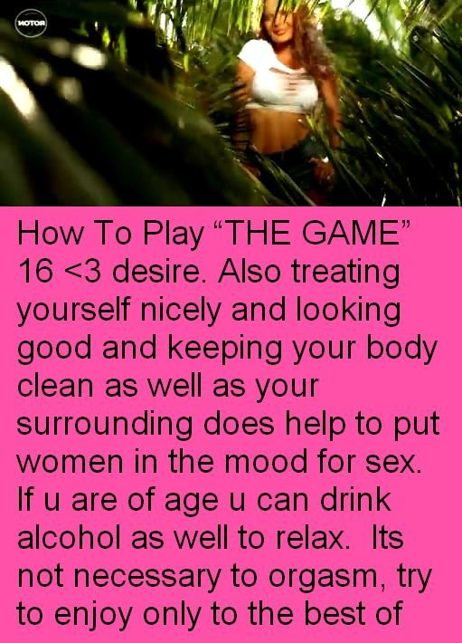 Ways to play with yourself sexually