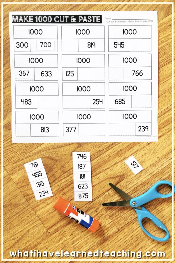 Make 100 And Make 1000 Mental Math Strategies Math Strategies Number Line How do you do mental math addition