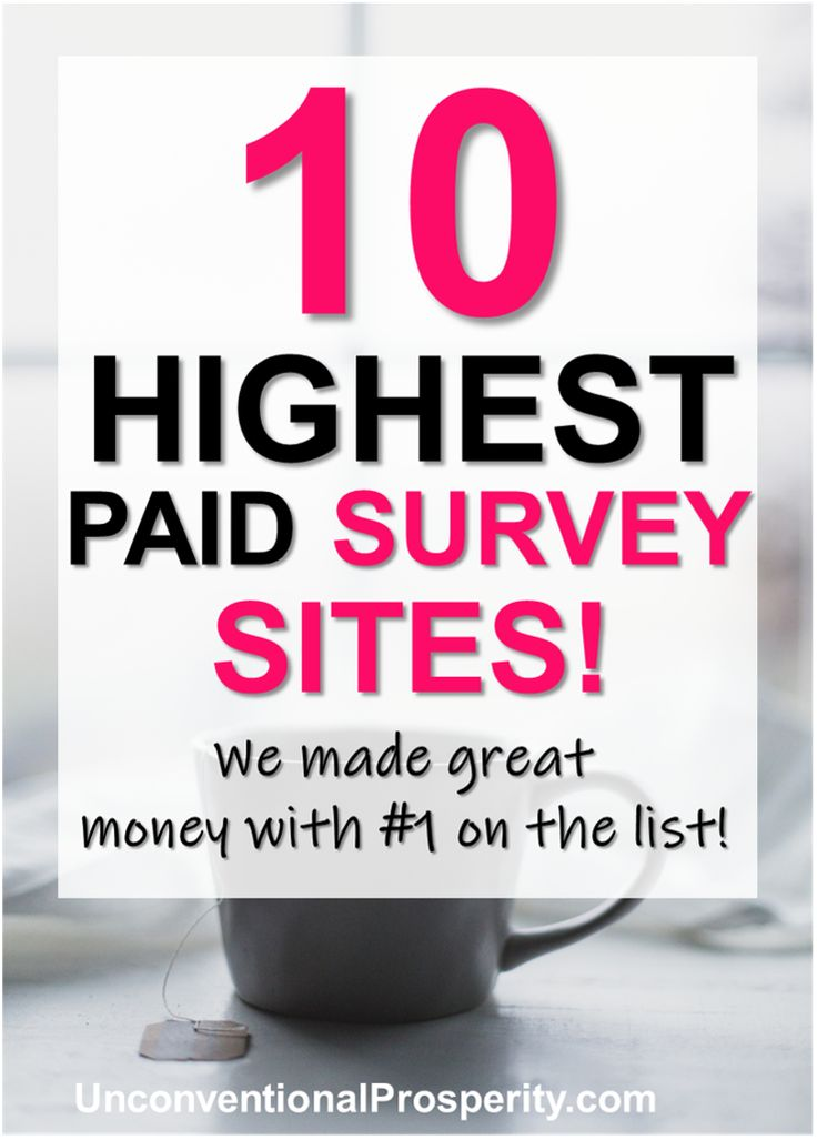 Highest Paying Survey Sites To Try Today! Survey Junkie! – Unconventional Prosperity