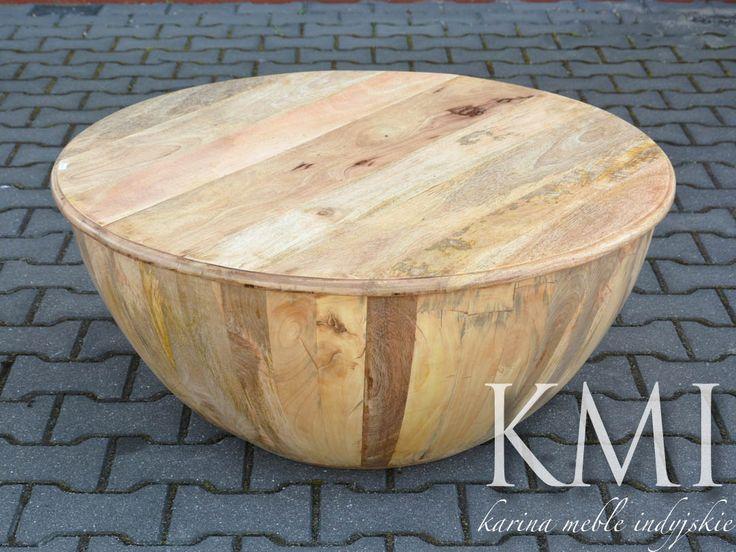 stolik mango w kolorze jasny już dostępne w meble kolonialne http://karinameble.pl/