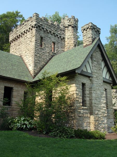 Squires Castle, North Chagrin Reservation, Ohio
