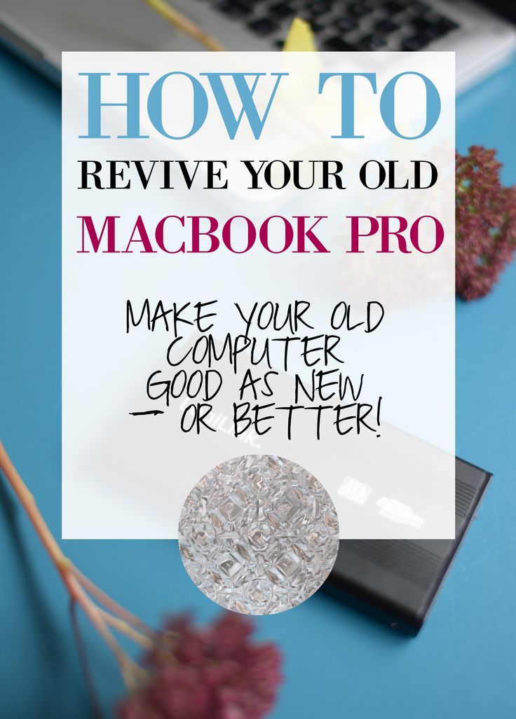How to fix your old, slow Macbook Pro! Save hundreds and hundreds of pounds, do it yourself and get a computer that's even better than when you bought it. Sounds interesting? Read all the details on blog and revive your Mac pro :)