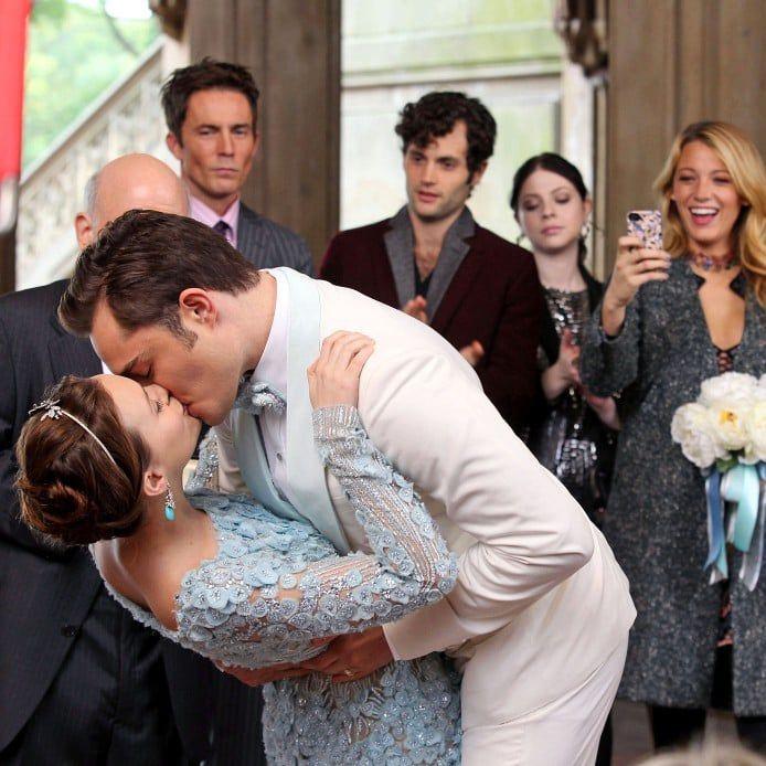 A Chuck And Blair Wedding For The Gossip Girl Finale Gossip Girl Chuck Gossip Girl Wedding Gossip Girl
