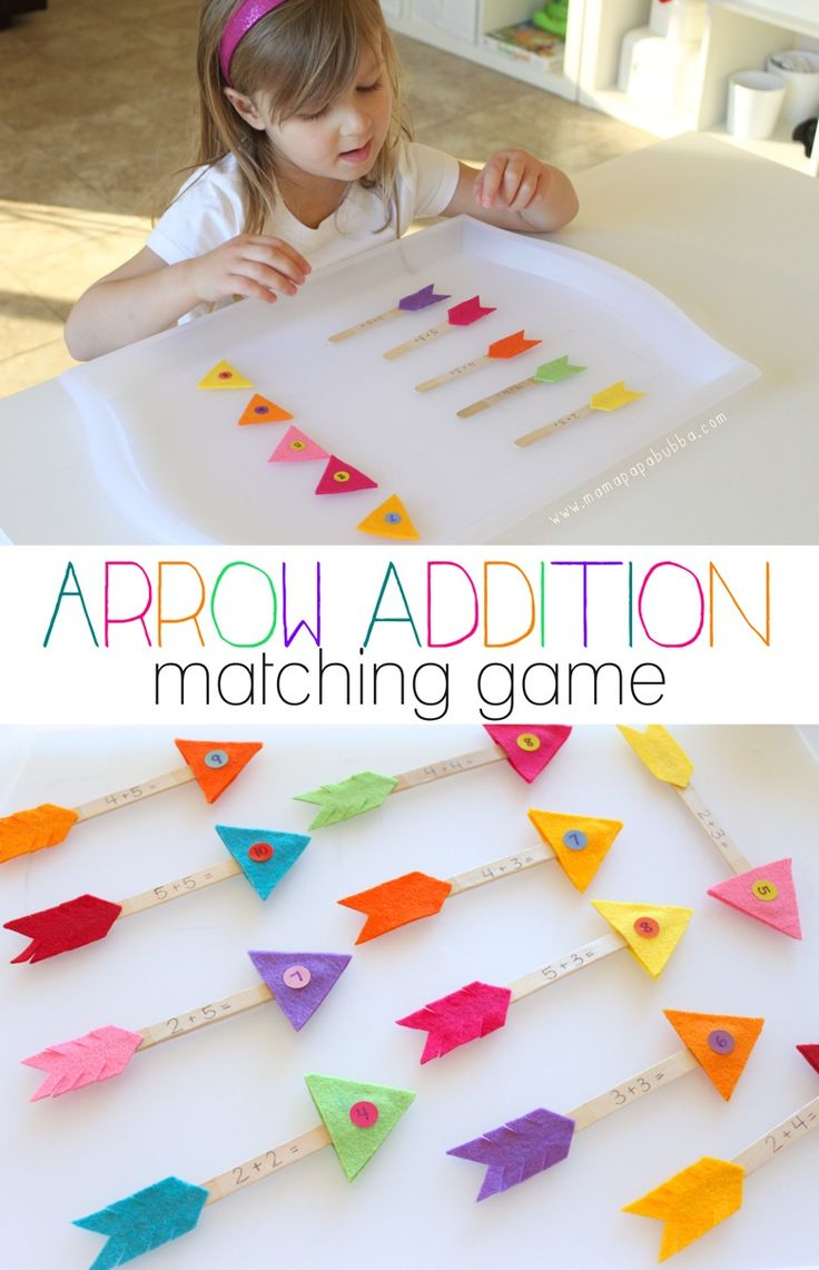 Arrow Addition Matching Game