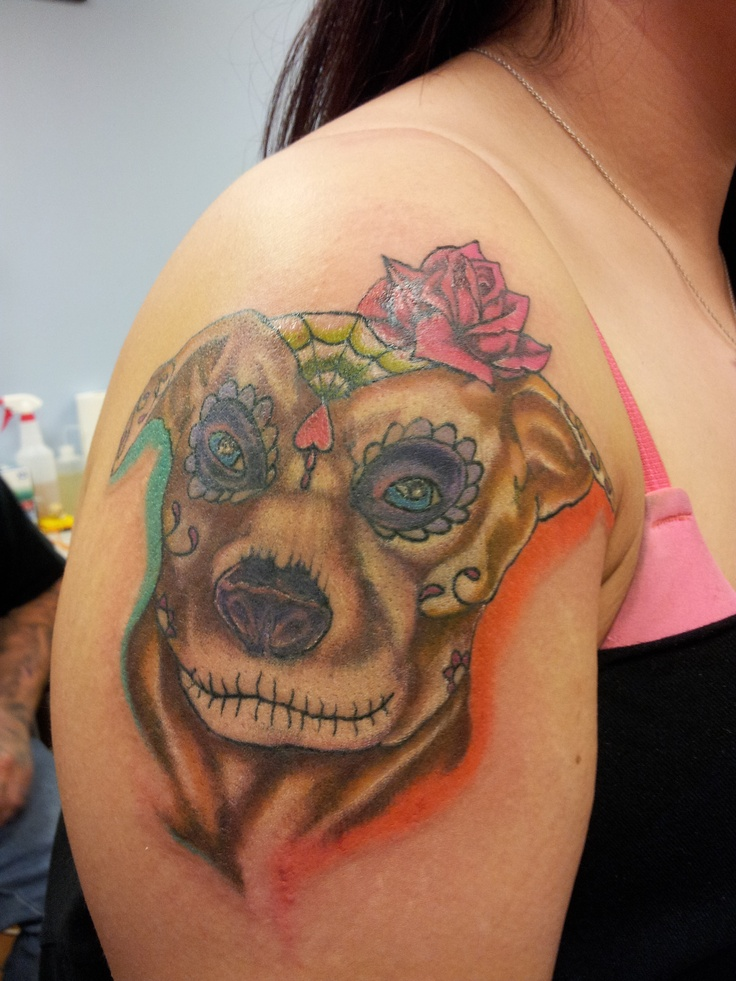 All colored in! Done by Jason Ghormley of Angel Ink in ...
