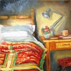 Alice Art Gallery - Jonel Scholtz - SA Artist - Interior oil - I KNOW YOUR SMELL-