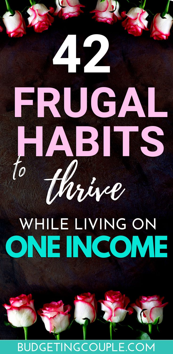 42 Frugal Habits to Thrive on One Low Income