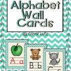 Decorate your room next year with these bright and colorful turquoise chevron alphabet cards.  If you print them on the multiple 2 by 2 setting whe...