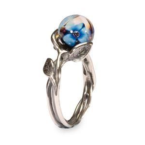 Blauwe bloem   Ringen   Collectie   LOKAAL Trollbeads Mobile