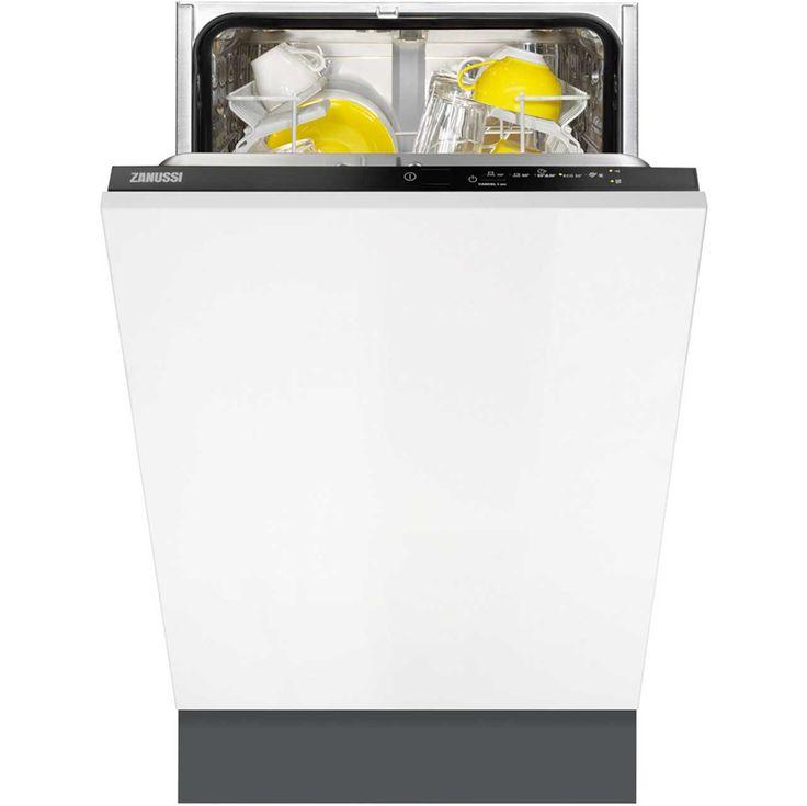 Zanussi ZDV12003FA Fully Integrated Slimline Dishwasher - Black