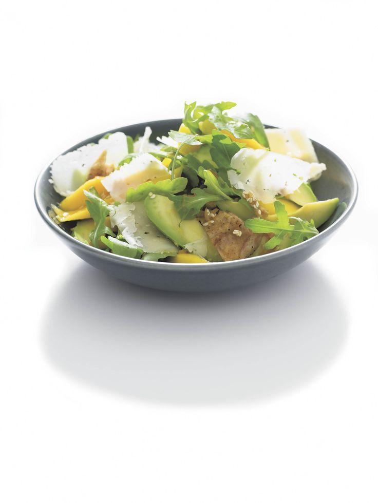 Kyckling- och mangosallad