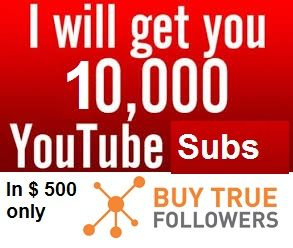 If you're a business and promoting your services on YouTube then every time a person subscribes to you, you should be looking at that person as a new client. There are many ways to get youtube subscribers One of the easiest ways is to buy youtube Subscriber. Start today and Buy 10000 Real YouTube subscribers for $500. #Buy #youtube #subscribers and #subscribers on #YouTube.