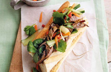 Vietnamese-style steak sandwich - Tesco Real Food