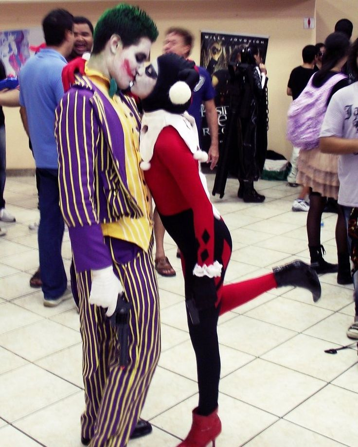 Joker and Harley Quinn COSPLAY by ~pamzynha on deviantART
