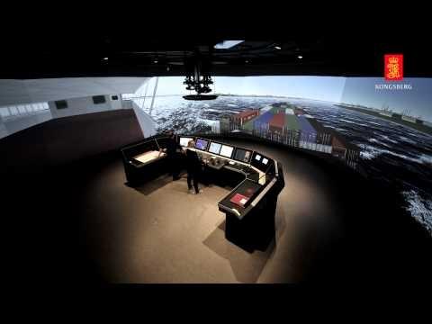 Kongsberg - Simulators / Polaris ships bridge simulator