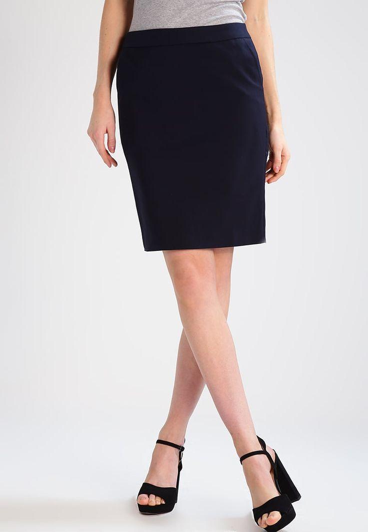 Zalando Essentials Blyantnederdel / pencil skirts - dark blue - Zalando.dk