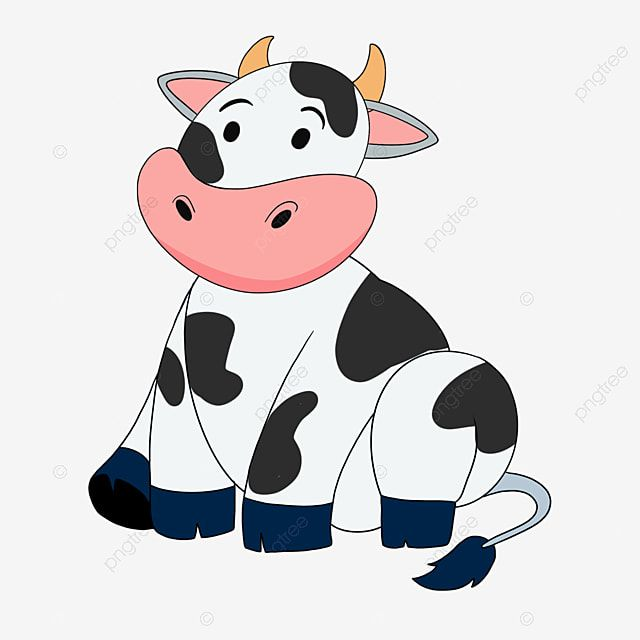 Hand Drawn Cartoon Cow Clipart Cow Clip Art Animal Png Transparent Clipart Image And Psd File For Free Download Cow Clipart Cartoon Cow Clip Art