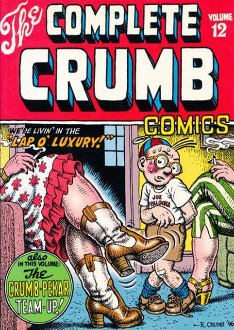 The Complete Crumb Comics 12 by #Robert_Crumb #underground_comics