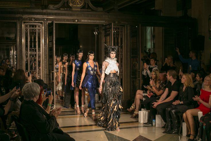 Gótikus tündérmese a London Fashion Week-ről: Dora Abodi tavasz/nyár 2015 - Újabb magyar büszkeség a London Fashion Week-en: Dora Abodi
