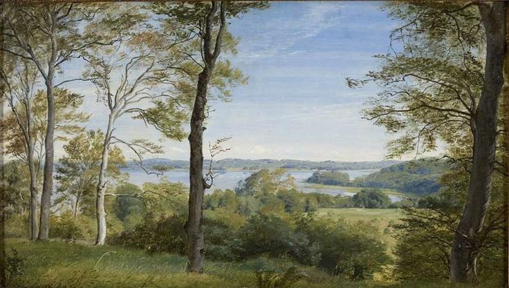 P.C. Skovgaard (1817-1875): View of Skarritsø, 1844