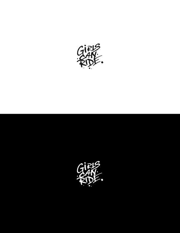 Identyfikacja wizualna dla marki odzieżowej Girls can Ride   #design #branding #brand #logo #logodesign #minimalism #grafika #projektowanie #graficzne #behance