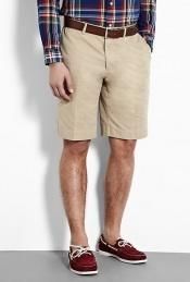 Polo Ralph Lauren stone cotton chino preston shorts