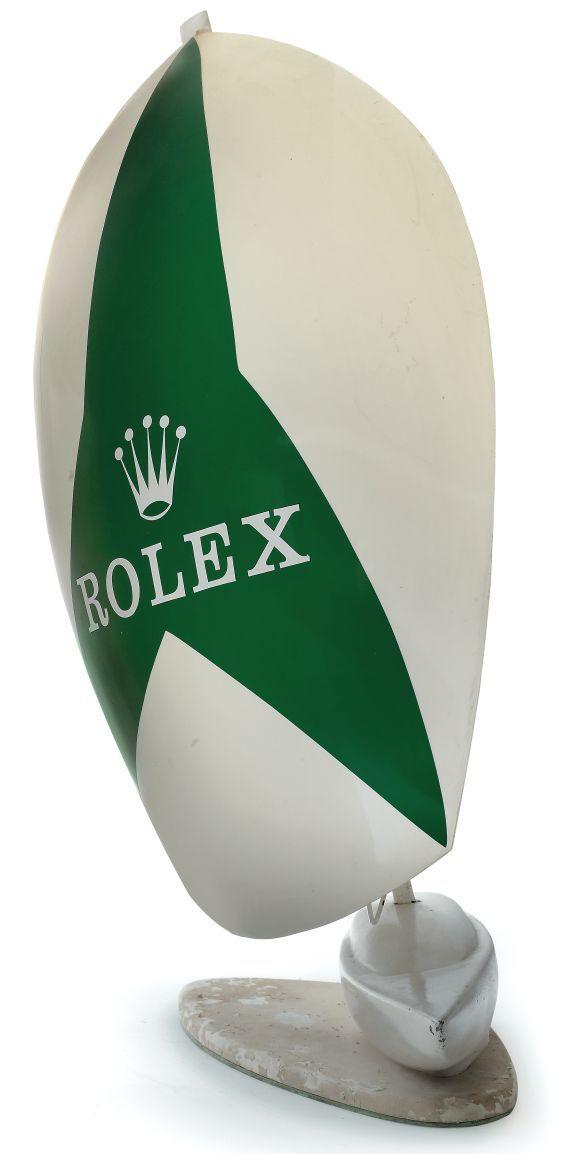 Rolex Sailboat Display Rolex, circa 1970