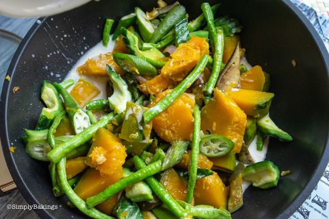 Pinakbet Vegan Vegetarian Recipe Simply Bakings Recipe Vegetarian Recipes Vegetarian Cooking Meals Without Meat
