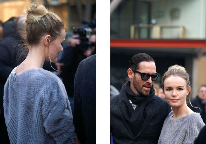 Kate Bosworth London Fashion Week  S/S 2013