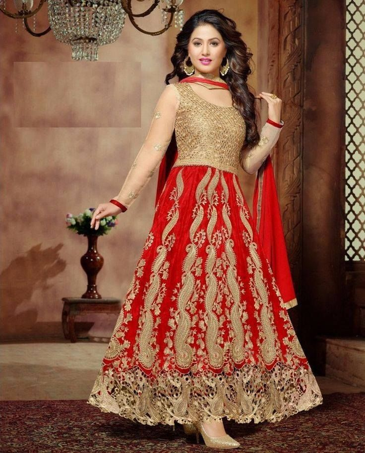 Latest & Trendy Pakistani Party Wear Dresses 2017-18