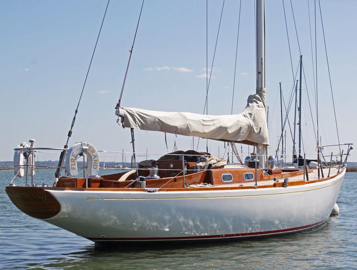 Click to enlarge image of Sparkman & Stephens 40 ft Sloop 1964 boat for sale