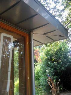 flat zinc roof overhang - Google Search
