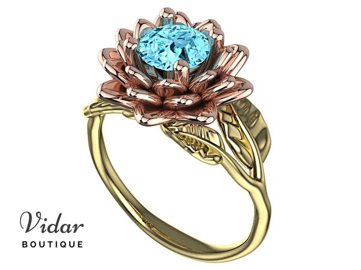 22 best Flower Engagement Ring images on Pinterest