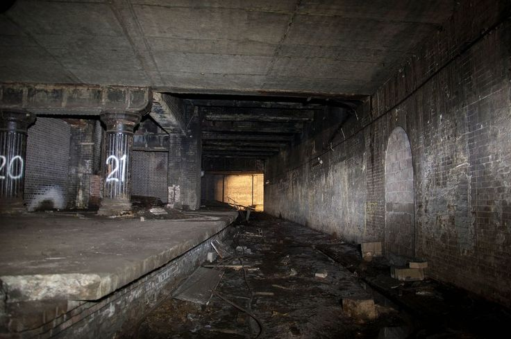 Over 38 million people pass through Glasgow Central station annually en route to and from Scotland\'s largest city. But unknown to many is the abandoned subterranean platform that lies hidden away in the gloomy bowels of the station. (Image: ChooChooMagrew; Glasgow Central's secret 'Victorian Platform')